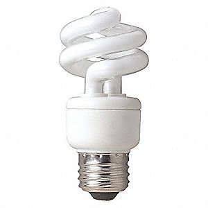 SCREW-IN CFL,14W,NON-DIMM,4100K,2PK