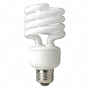 SCREW-IN CFL,23W,NON-DIMM,2700K,2PK