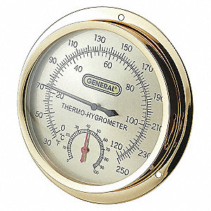 ANALOG THERMOMETER,30-250 DEGREE F