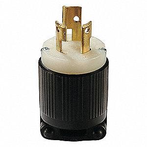 LOCKING PLG,L6-15P,15A,250V,1-1/2HP