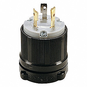 LOCKING PLUG,L5-20P,20A,125V,1 HP