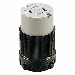 LOCKING CONN,L14-20R,20A,125/250V