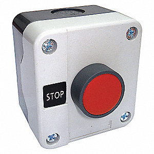 CONTROL STATION,1 FUNCT,4,4X,STOP