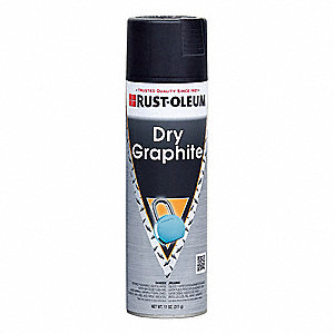 Dry Graphite Lubricant, 11 oz. Container Size, 11 oz. Net Weight