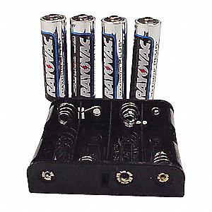 Battery Pack,Eplex,(4) Alkaline AA