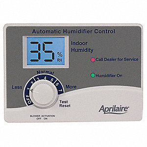 aprilaire humidifier control for use with steam model 800 31tp22 62 grainger. Black Bedroom Furniture Sets. Home Design Ideas