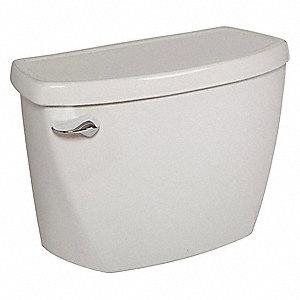 American Standard Pressure Assist Tank Single Flush Left Hand Trip Lever Toilet Tank 1 6 Gallons Per Flush 31tr06 4142016 020 Grainger