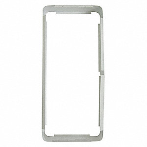 Heater Accessory,Mounting Frame,White