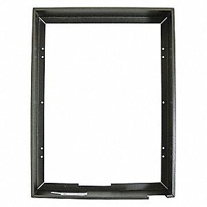 Heater Accessory,Mounting Frame,Brown