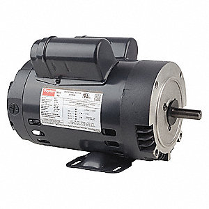 3/4 HP General Purpose Motor,Capacitor-Start/Run,1725 Nameplate RPM,Voltage 115/208-230,Frame 56C