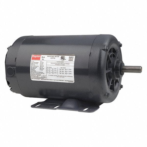 Dayton 1 1 2 Hp General Purpose Motor 3 Phase 1725