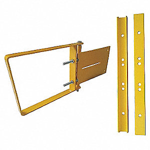 Adjustable Safety Gate,19to21-1/2in,1ftH