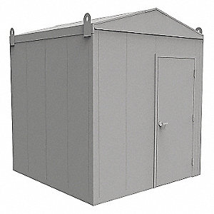 Outdoor Storage Building,8 ft. 4 In L
