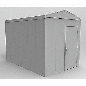 Outdoor Storage Building,12 ft. 4 In L