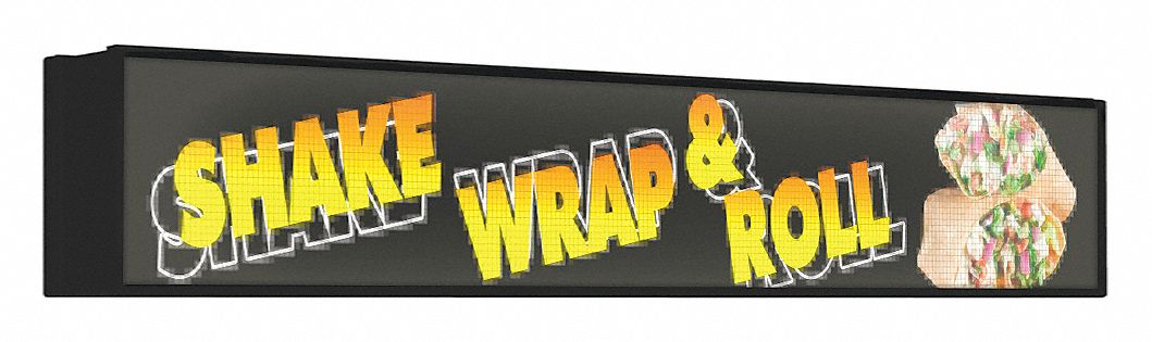 Outdoor Led Message Displays