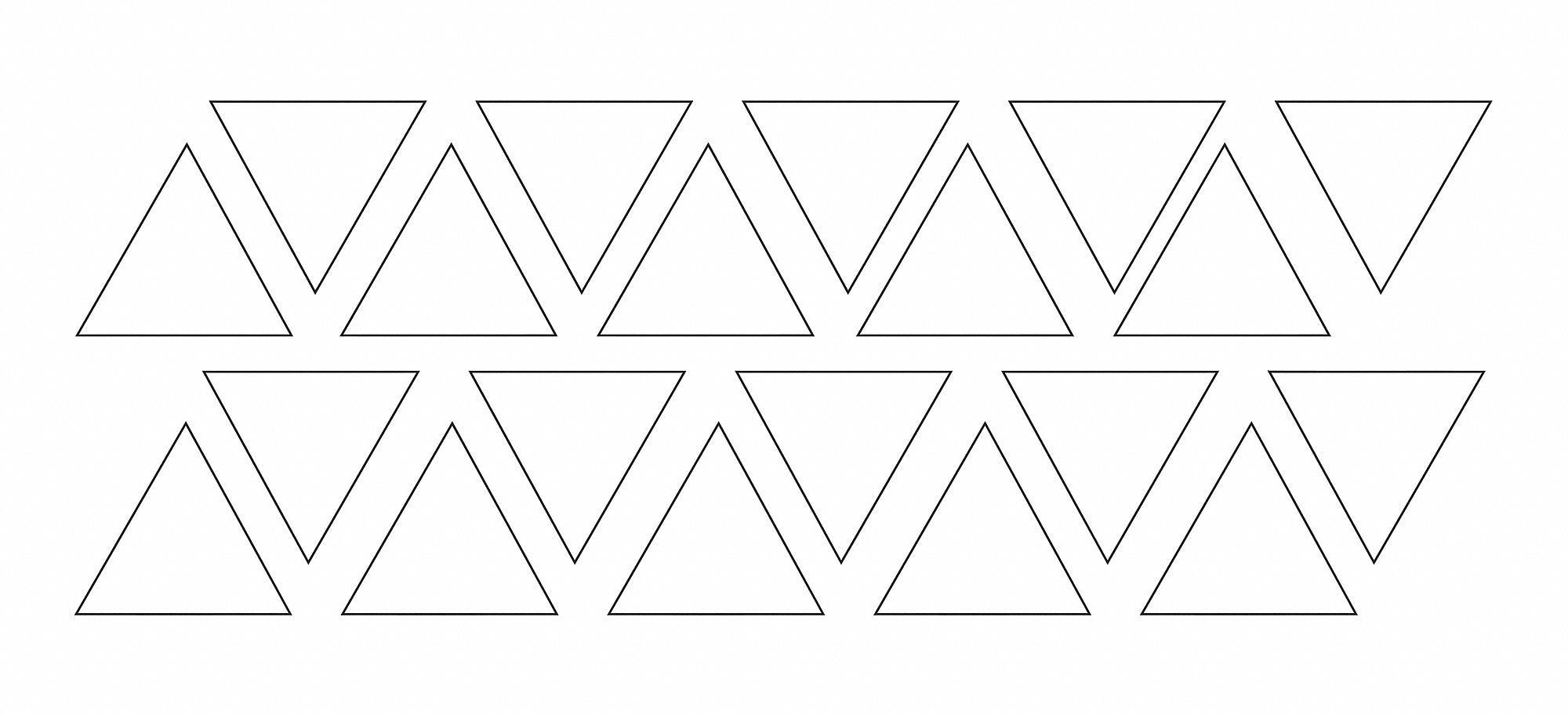 Magnetic Triangles,  PK 20