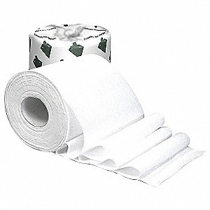 Toilet Paper,500 Sheets,White,PK96