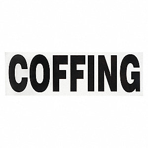 Coffing Decal