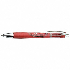 Gel Medium-Point Ballpoint Pen, 0.7mm, Red