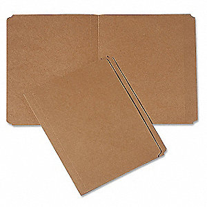 Folder,Letter,Staight Cut,Kraft,PK100