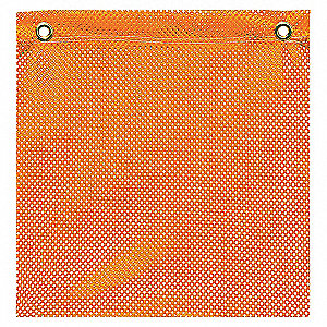 FLAG ORANGE JERSEY 18IN GROMMET