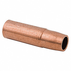 Nozzle,Copper,Tweco,Self-Insulated,PK2