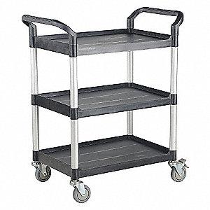 "Utility Cart,500lb,43-3/8x20-1/2x40-1/8"""