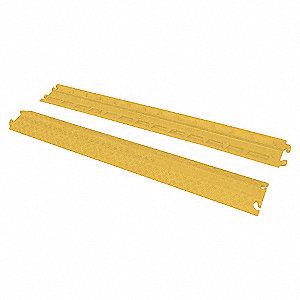 VESTIL RAMP CABLE MOLD RUBBER 39IN YELLOW - Cable/Hose Festoon