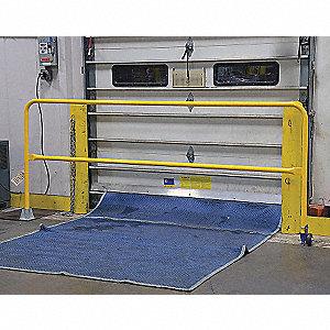 BARRIER DOCK ROLL SAFETY GATE 11FT