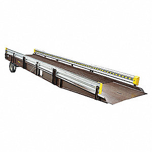 RAIL GUARD FOR ALUM YARD RAMP 36FT