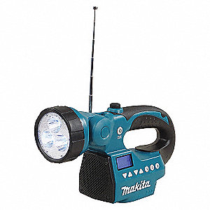 FLASHLIGHT LED/RADIO 18V-14.4V