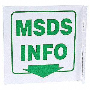 L SIGN MSDS INFO. 7X7 PL