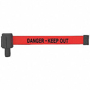 PLUS Barrier System Head, Keep Out,PK5