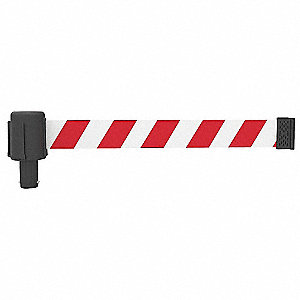 PLUS Barrier System Head,  Red & White
