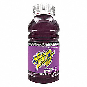 Sports Drink,Liquid,Grape,12 oz.,PK24