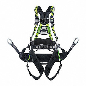 Full Body Harness,S/M,400 lb.,Polyester