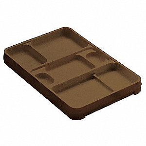 Food Tray,14-1/4inLx9-1/2inWx2-1/4inH