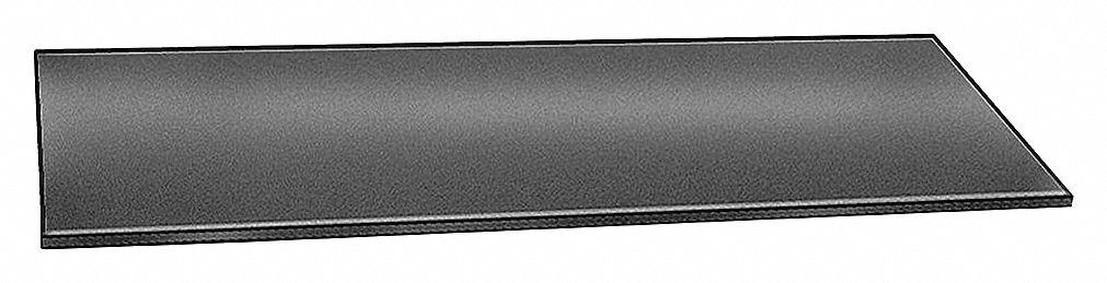 "E Black 60A Grade Neoprene Rubber Strip 2/""x36/"" JAMES 6060-1//8X 1//8/"" Comm"