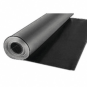RUBBER VINYL 1/4IN TH 36INX10 FT