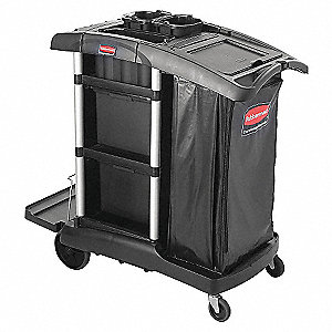 Janitors Cart,48 in.x22 in.x53 in.