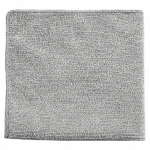 MICROFIBRE CLOTH - 12IN GRAY