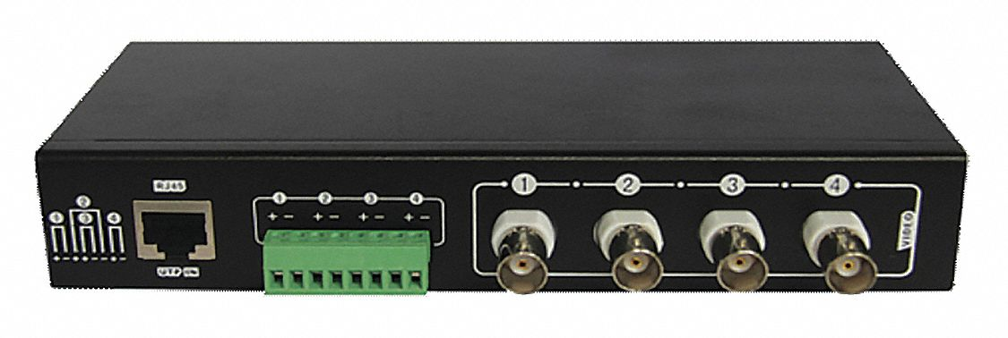 High Performance Video Hub,4 position,,  Cat5ep, Cat6,  Plug and Play,  RJ45, Terminal Blocks