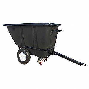 Tilt Truck,HD Towable,1/2 cu yd,1400 lb