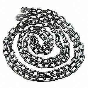 CHAIN WITH GRAB HOOKS 480IN 5000 LB