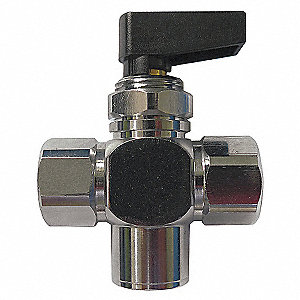 BRASS MINI BALL VALVE FNPT 1/8 IN