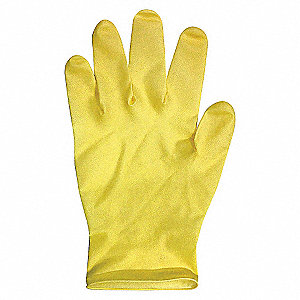 DISPOSABLE GLOVES LATEX NAT L PK100