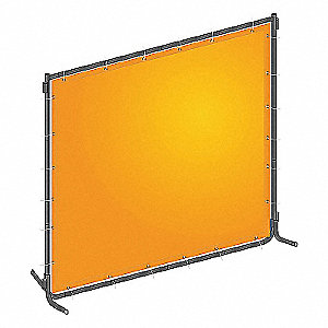 WELD CURTAIN KIT PVC 4 WX6 FT. H YW