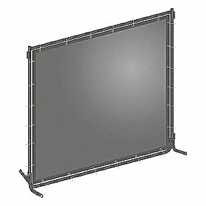 WELD SCREEN KIT PVC 6 WX6 FT. H GY