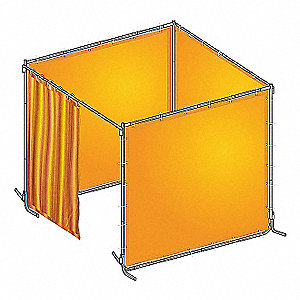 WELD BOOTH KIT PVC 8 WX6 FT. H YW