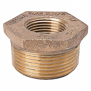 BUSHING 3/8 X 1/4 IN BRASS